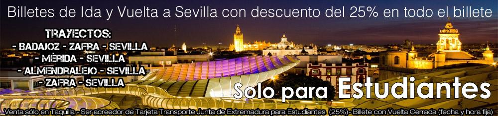Oferta LEDA Estudiantes Sevilla