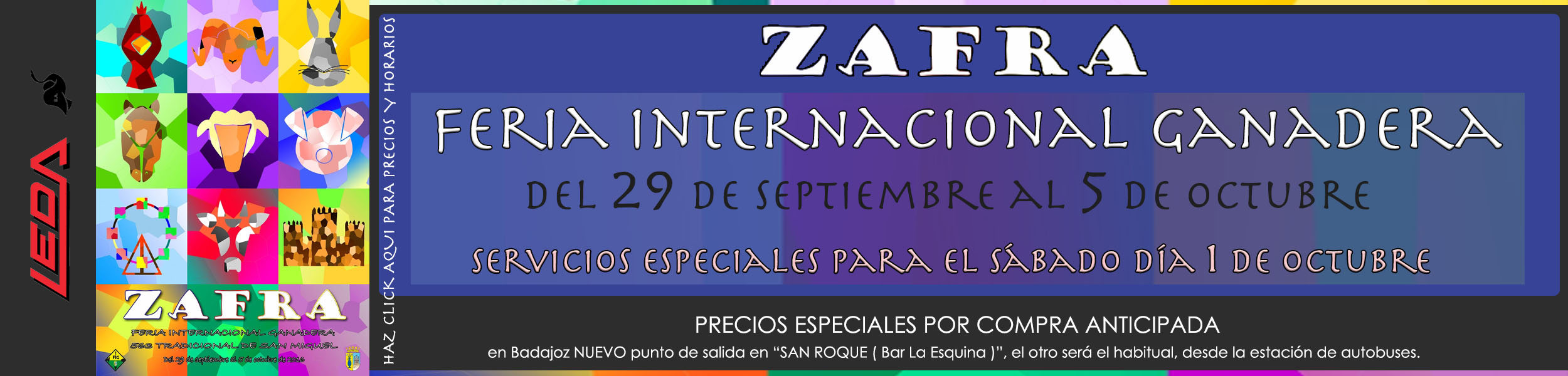 Feria de Zafra 2016 LEDA