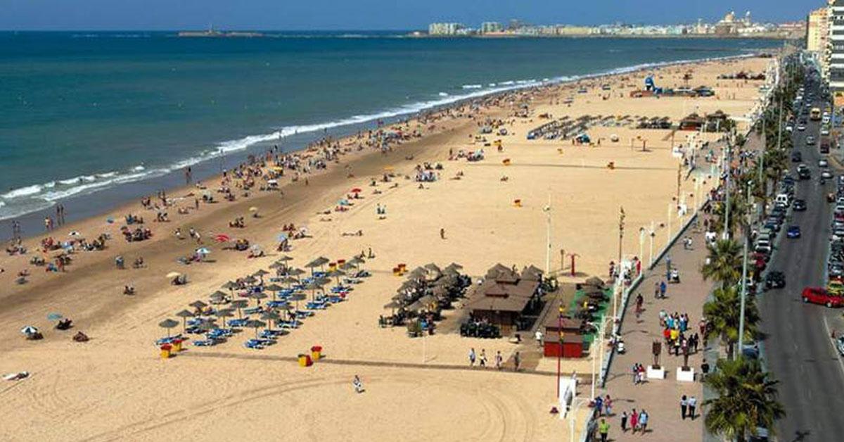 Ir a playa Victoria Cádiz