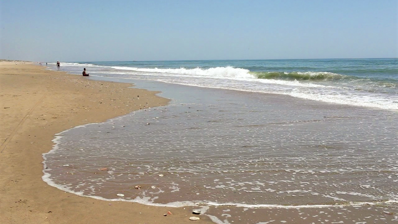 Un día en la playa de la Antilla