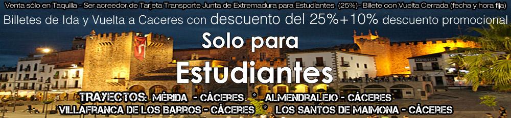 Oferta LEDA Estudiantes Cáceres