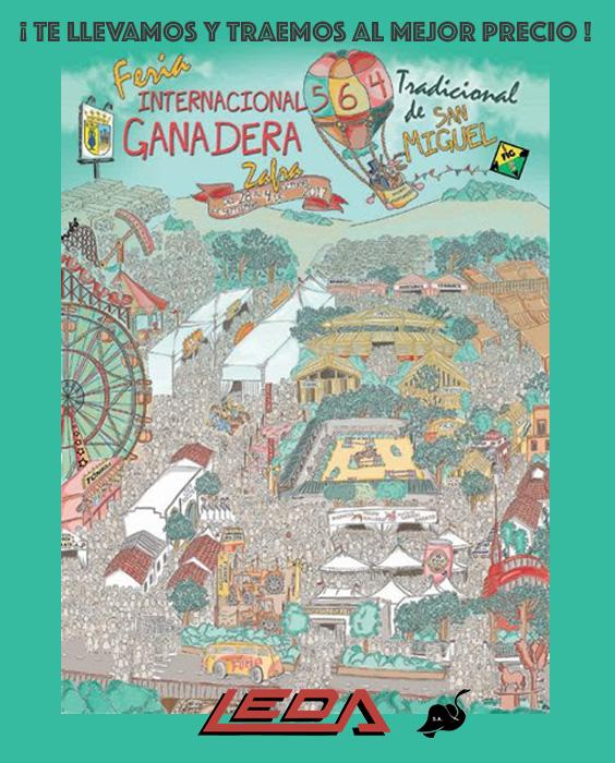 Feria Ganadera Zafra 2017