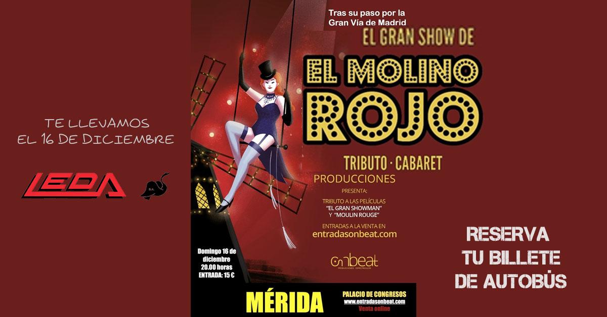 Ir a EL MOLINO ROJO – Show en Mérida