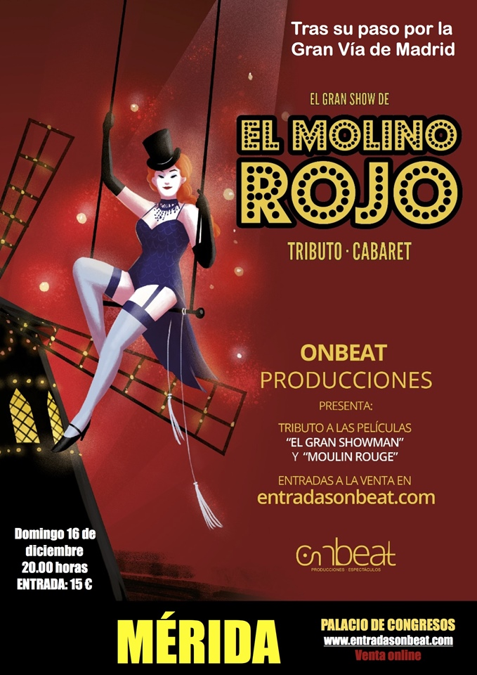 Ir a EL MOLINO ROJO - Show en Mérida
