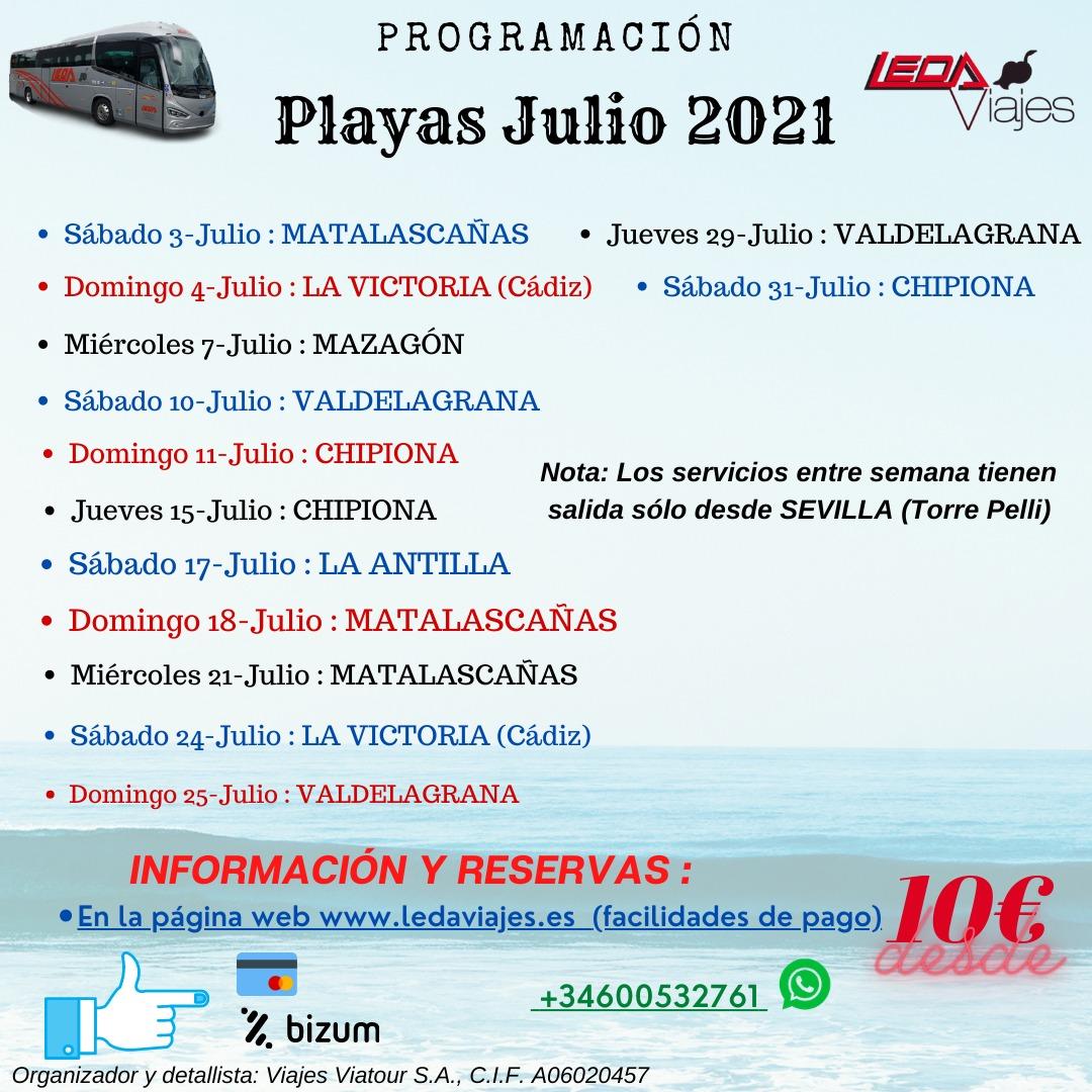 PLAYAS 2021
